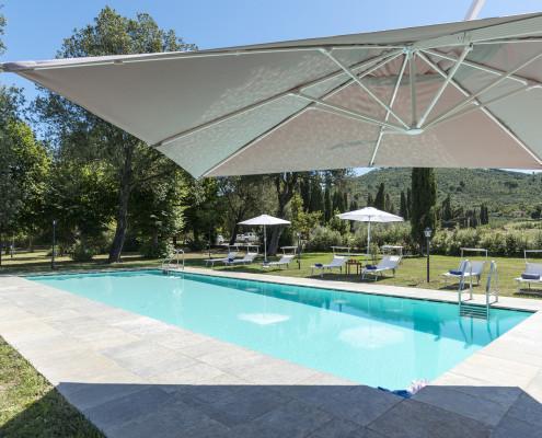 Bramansole Villa Pool Tuscany