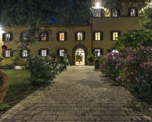 Weddign Night Tuscany Villa