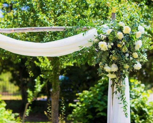 Garden Wedding Tuscany Italy