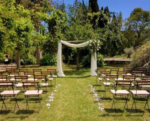Garden Wedding Tuscany Cortona
